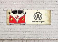 VW CAMPER LOGO firmare per Officina, Garage, ufficio o showroom BANNER PVC