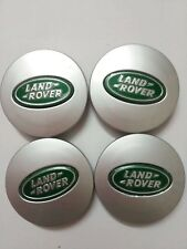 4x 63mm LAND ROVER ALLOY WHEEL CENTRE HUB CAPS FOR FREELANDER 2 3 DISCOVERY 3 4