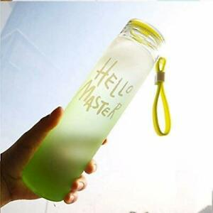 1 Glass Hot And Cold Water Bottle With Cover, 500ml, 1 Piece, Multicolour