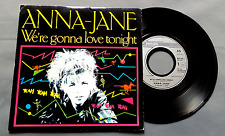 "DISQUE VINYLE 45 T INT/ ANNA-JANE ""WE'RE GONNA LOVE TONIGHT""PHILIPS 888 565-7"