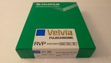 NEW FUJICHROME FUJI RVP VELVIA 50 SHEETS 4X5 ISO 50 COLOR FILM FRIDGED EXP 09
