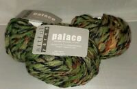 3 SKEINS/BALLS OF (DISC) ARTFUL PALACE YARN ~ COLOR #366 MULTI-COLOR