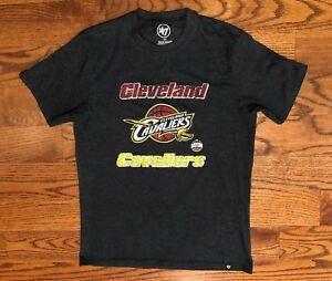 Cleveland Cavaliers Basketball 47 Brand Dark Blue T-Shirt Men's Small