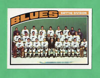 1976-77 OPC O PEE CHEE  # 146 Blues Team nrmnt-mt very low pop