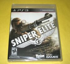 Sniper Elite V2 | PlayStation 3 PS 3 | New Y-Fold Sealed Black Label