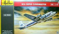 Heller 1:72 DC6 Super Cloudmaster Aircraft Model Kit