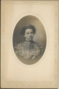 A Long Long Time Ago When She Was Young ANTIQUE FOUND PHOTO bw Portrait 03 15 L