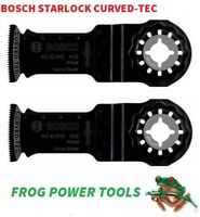 BOSCH AIZ 32 EPC HCS 2 X Starlock Multitool Curved-Tec Blades +Vat Receipt