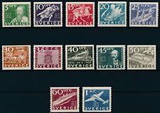 [2] Sweden 1936 Good set of stamps very fine MNH value $370