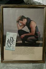 Chris Isaak Autograph Concert Ticket New York City 1995 Picture Photo Signed