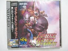 NeoGeo CD -- Fighter's History Dynamite -- NEW! JAPAN GAME SNK. 14713