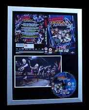 McBUSTED+SIGNED+FRAMED+LIVE 02 DVD+ADVENTURE TOUR=100% GENUINE+FAST GLOBAL SHIP
