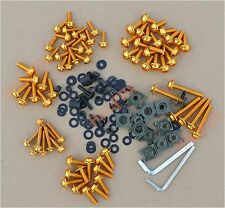 Gold Fairing Bolts Kit Windscreen Screw for Yamaha YZF R125 R15 R25 R3