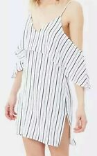 Women striped flounce dress by Staple the label