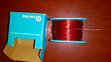Belden Vintage 8051 22 SGL. Beldsol Wire 1/2 Pound New Old Stock BOX Made In USA