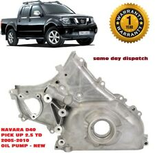 FIT NISSAN NAVARA D40 PICK UP - ENGINE OIL PUMP 2.5TD DCi  2005-ON 15010-EB70A