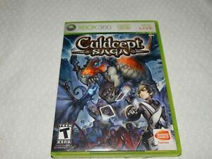 Culdcept Saga for Xbox 360 with Manual (2008) - RARE