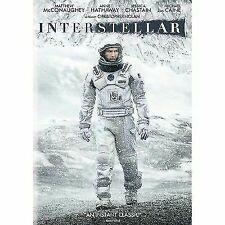 Matthew McConaughey Interstellar DVD 2014 PAL Region 2