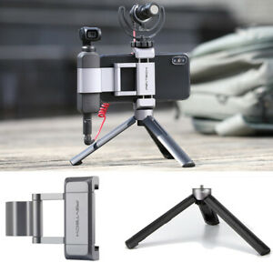 PGYTECH Phone Metal Holder Adapter&Tripod Protector Foldable For DJI OSMO Pocket