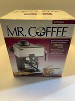 Mr Coffee 4 Shot Steam Expresso & Cappuccino Maker ECM160-New Opened Box