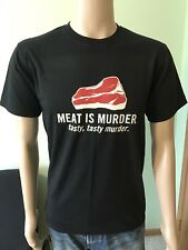 Meat Is Murder T Shirt Size Medium By Maker One