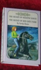 NANCY DREW MYSTERY VINTAGE TWIN THRILLER #5&6 SHAD.RANCH,RED GATE $15+SHIPFREE
