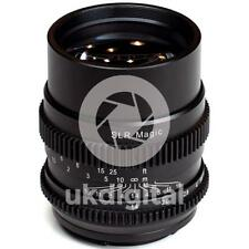 SLR Magic CINE 75mm F1.4 Lens for Sony FE