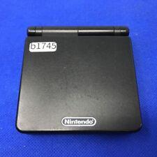 b1745 Nintendo Gameboy Advance SP Onyx Black console GBASP Express