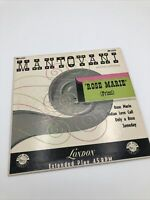 """Mantovani and His Orchestra """"Rose Marie"""" 45 RPM London BEP.6223"""
