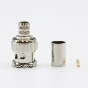 Van Damme 339-675-300 HD-SDI BNC cable male RG6/U, Bag Of 50