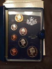 1986 Royal Australian Mint  Proof Coin Set  Complete w/ Box and Papers