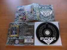 @ CD DIRTY WHITE BOYS - JUST A DIRTY /RARE DUTCH HARDROCK 1996 SLEEZE BEEZ