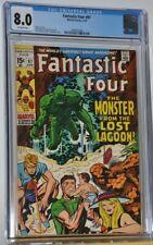 Marvel Comics The Fantastic Four #97 Apr. 1970 CGC 8.0 Stan Lee Jack Kirby