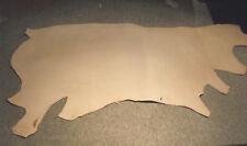 11/12 oz. Veg Tan Skirting Strap Saddle Rein Tack Tooling Armor Cowside Leather