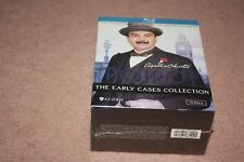 Agatha Christies Poirot: The Early Cases (Blu-ray Disc, 2012, 13-Disc Set) *New*