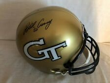 Bill Curry Signed Georgia Tech Full Size Riddell Replica Football Helmet JSA