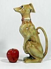 Vintage Greyhound Whippet Dog Sculpture