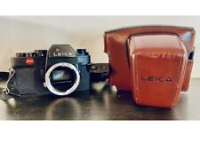 Leica R3 35mm SLR Film Camera Body With Case See Description