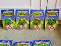 RARE TEENAGE MUTANT HERO TURTLES Plug In NIGHT LIGHT CARDED FULL SET EXCELLENT