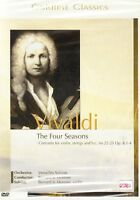 DVD + Goldline Classics #5 + Antonio Vivaldi + The Four Seasons + Konzert +
