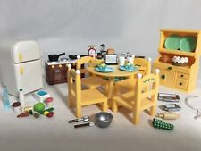New ListingCalico critters/sylvanian families Kitchen Furniture With Fridge & Extras