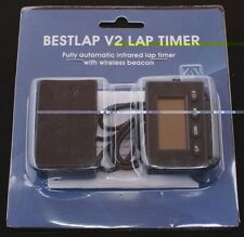 """V2 bestlap*5 lap timer infrared motorcycle racing counter with 1"""" interval time"""