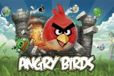 ANGRY BIRDS ~ RED DESTROY iPHONE APP GAME POSTER Video