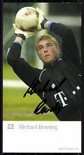 Michael Rensing FC Bayern München 2003-04 1.Karte Original Signiert + C 1489