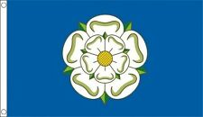 YORKSHIRE FLAG 5X3 5FT X 3FT WITH TWO METAL EYELETS