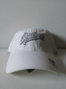 DALLAS COWBOYS WOMEN'S REEBOK ADJUSTABLE HAT/CAP. w WHITE with COWBOYS on CROWN