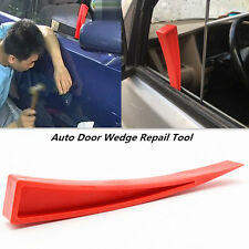 Car Door Window Enlarger Wedge Dent Repair Tool Panel Beater Red Nylon Auxiliary