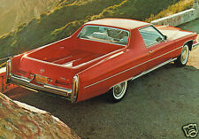 1974 Cadillac Mirage Pickup Truck, RED, Refrigerator Magnet, 40 MIL