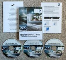 BMW SAT NAV DVD 2015 ROAD MAP EUROPE PROFESSIONAL AGGIORNAMENTO
