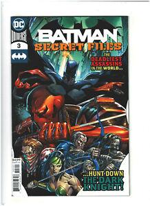 Batman Secret Files #3 NM- 9.2 DC Comics 2020 Punchline & Mr. Teeth app.